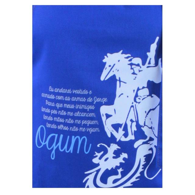 Avental Ogum Azul