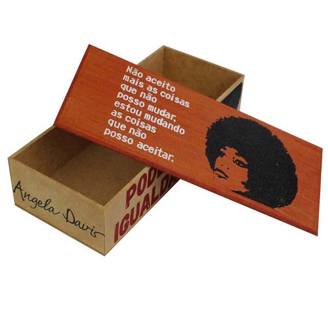 Caixa Bacana Angela Davis