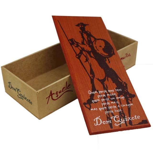 Caixa Bacana Dom Quixote