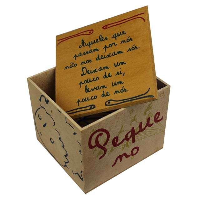 Caixa Porta Chá Pequeno Príncipe