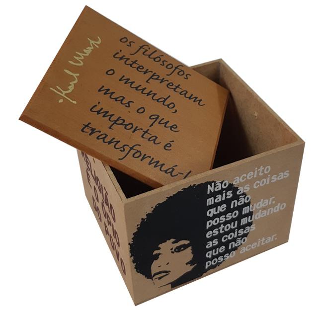 Caixa Porta Chá Resistência