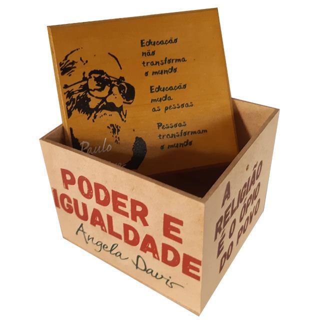 Caixa Porta Chá Resistência Freire