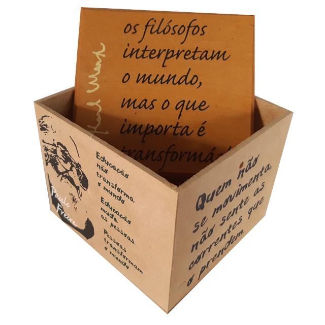 Caixa Porta Chá Resistência Mrx