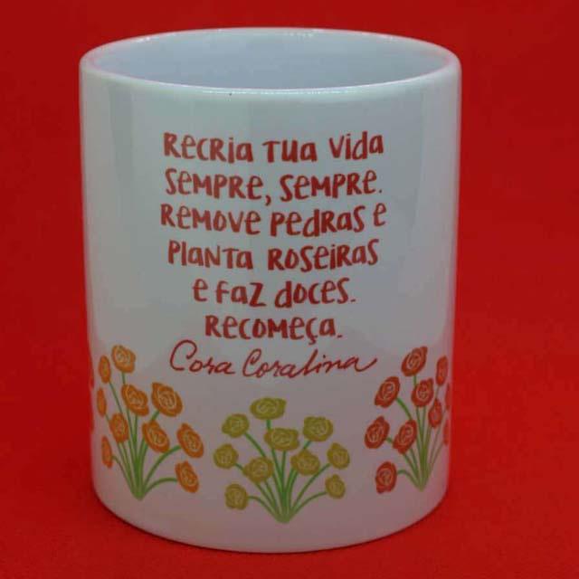 Caneca Cora Coralina