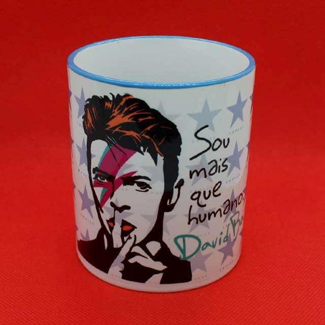 Caneca David Bowie Color Azul
