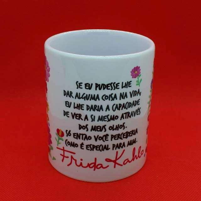 Caneca Frida Kahlo Olhos