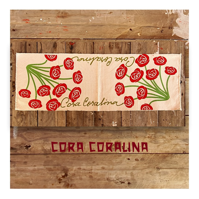 CENTRO DE MESA CORA CORALINA (FLORAL) - cru