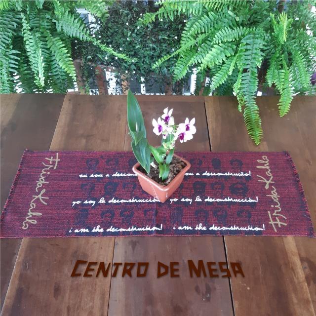 CENTRO DE MESA FRIDA (DESCONSTRUÇÃO)