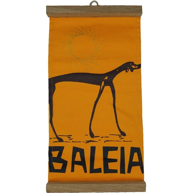 Flâmula Baleia Amarela