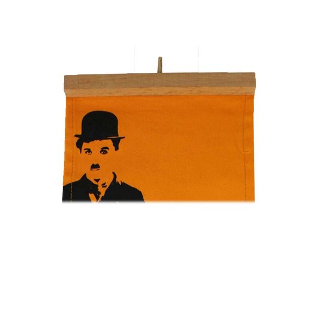 Flâmula Charles Chaplin Amarela