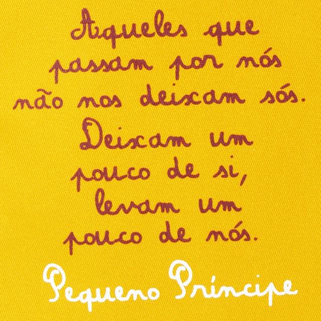 Flâmula Pequeno Príncipe Amarela