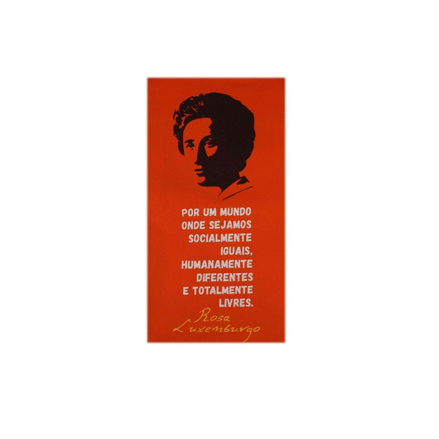 Flâmula Rosa Luxemburgo - Laranja