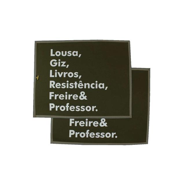 Jogo Americano Freire e Professor Musgo