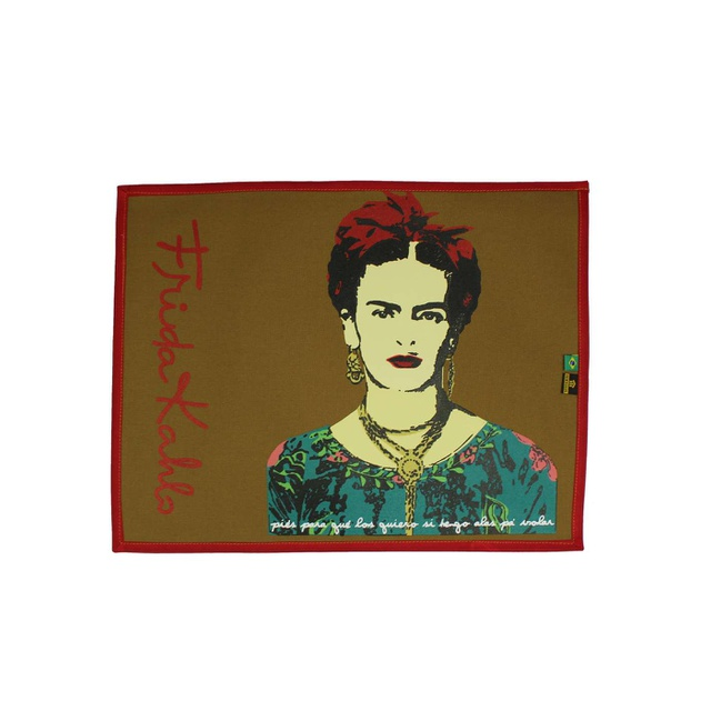 Lugar Americano Frida Kahlo Cru