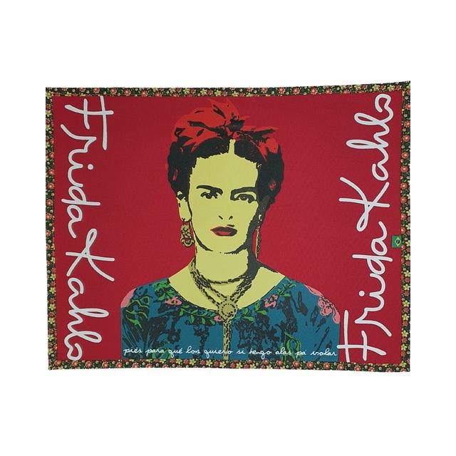 Lugar Americano Frida Kahlo Vermelho