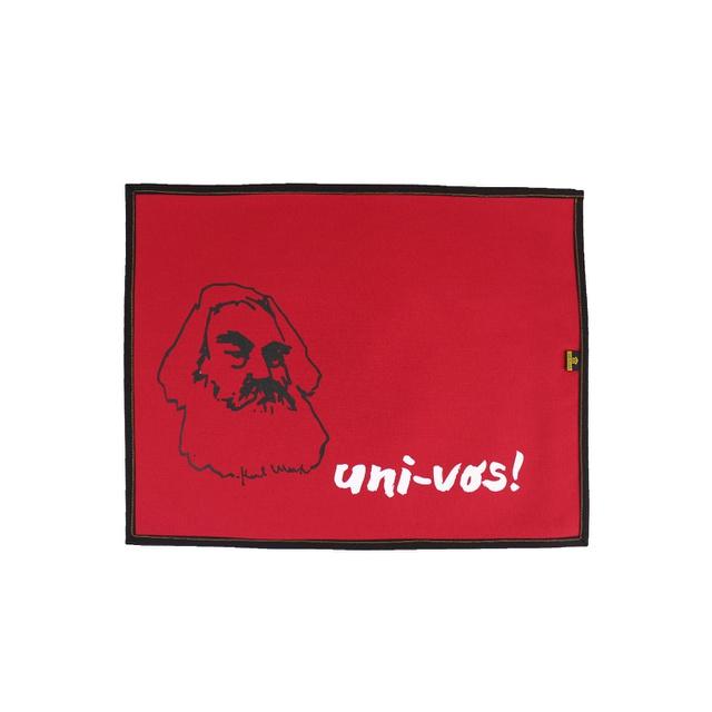 Lugar Americano Karl Marx Vermelho