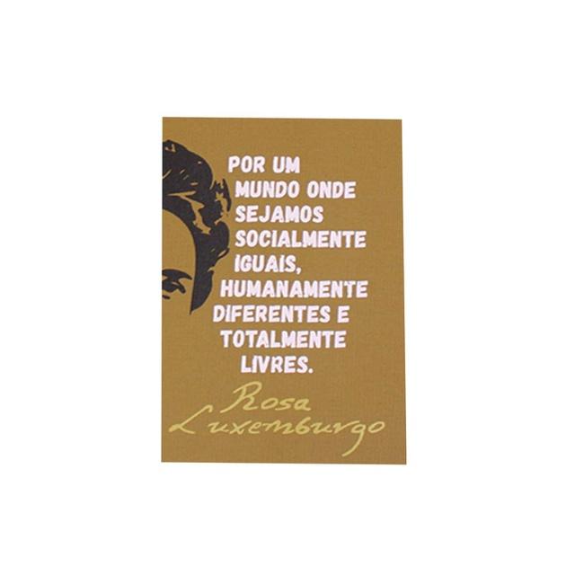Jogo Americano Rosa Luxemburgo Cru