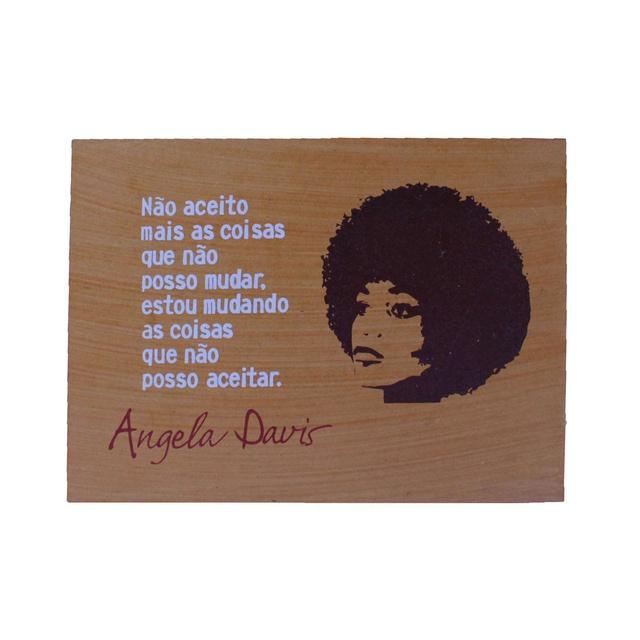 Quadrinho Angela Davis