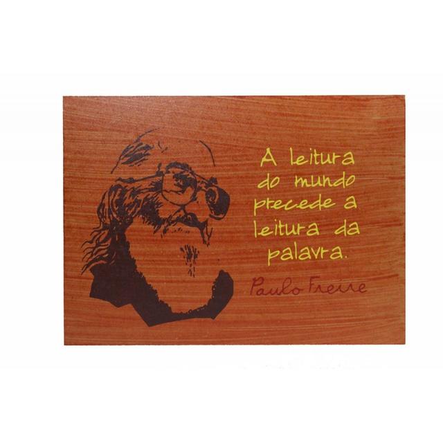 Quadrinho Paulo Freire Leitura