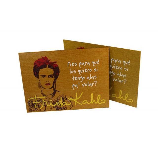 Quadrinho Frida Kahlo Alas