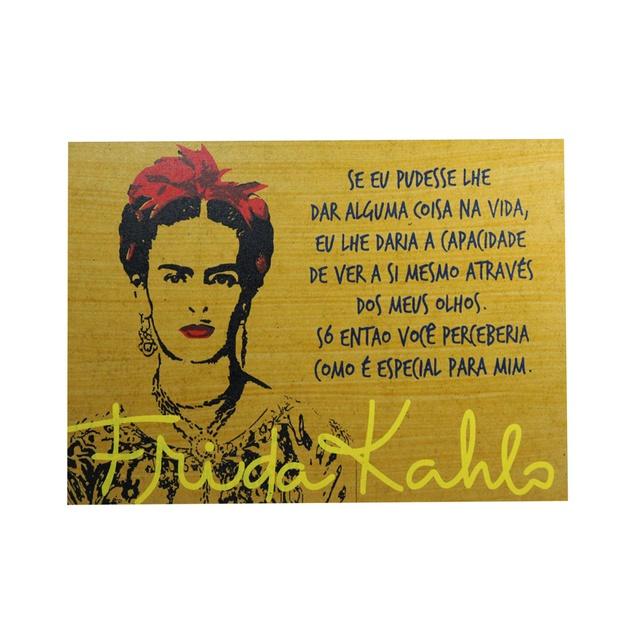 Quadrinho Frida Kahlo Olhos