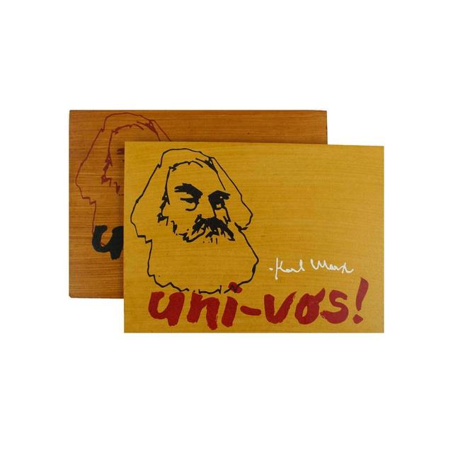Quadrinho Karl Marx