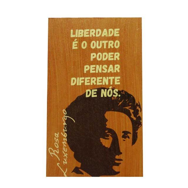 Quadrinho Rosa Luxemburgo Vertical