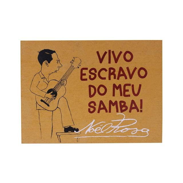 Quadrinho Noel Rosa Samba