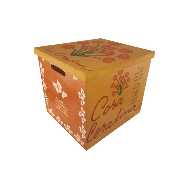 Caixa para Vinil - Cora Coralina