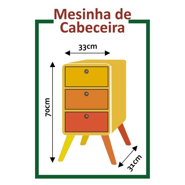Mesa de Cabeceira Cora Coralina