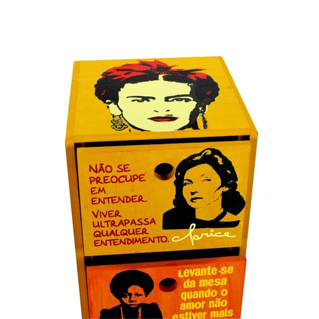 Gaveteiro Mulheres - 4 Gavetas