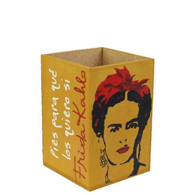 Porta-lápis Frida Kahlo