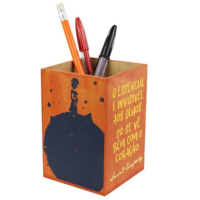 Porta-lápis Pequeno Príncipe