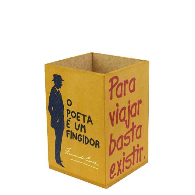 Porta-lápis Fernando Pessoa