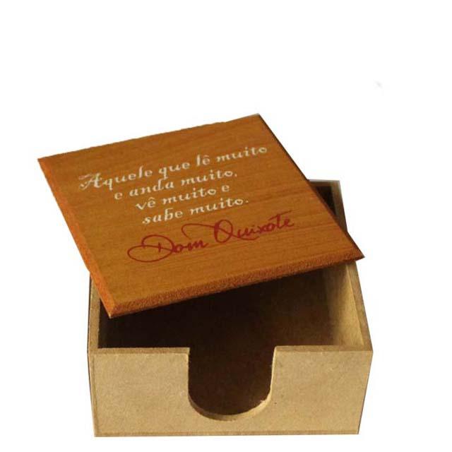 Porta-recados Dom Quixote