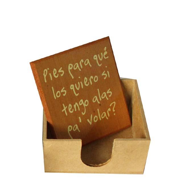 Porta-recados Frida Kahlo