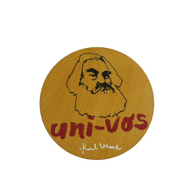Quadrinho Redondo Karl Marx