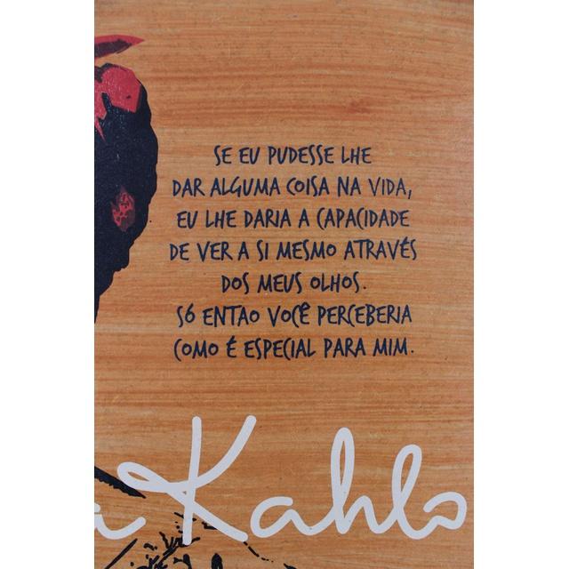 Quadro Frida Kahlo Olhos