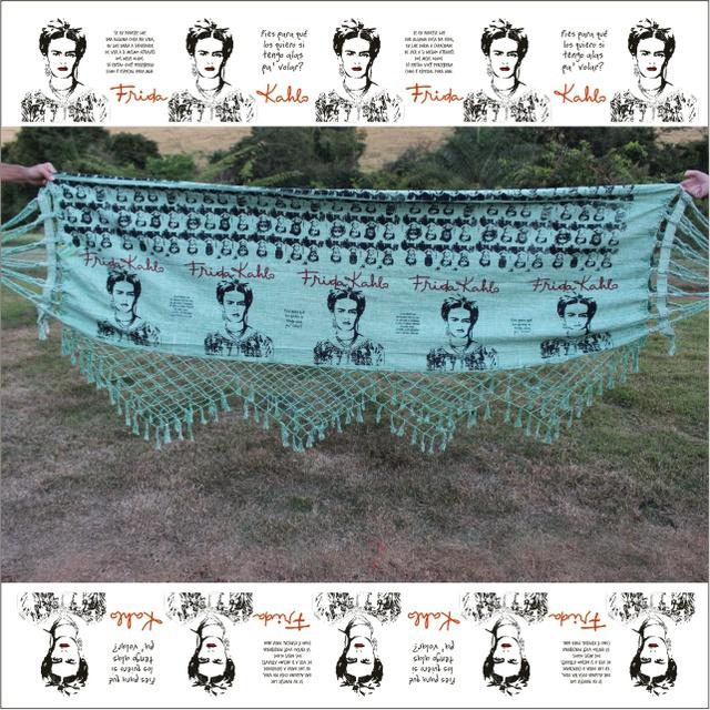 Rede de Balanço Frida Kahlo - Verde