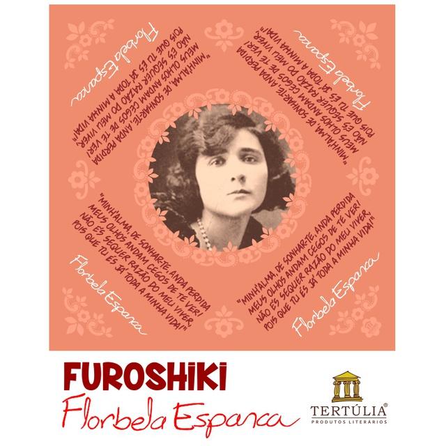 FUROSHIKI FLORBELA - Goiaba - 71x71cm