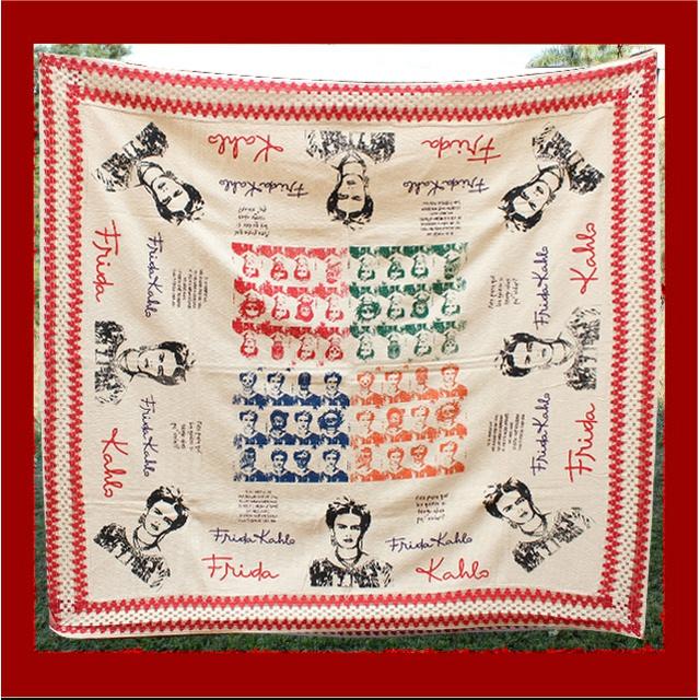 Toalha de Mesa Algodão - Frida Color