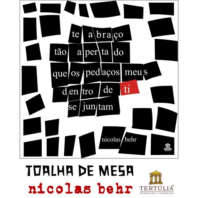 Toalha de Mesa Nicolas Behr - Branca