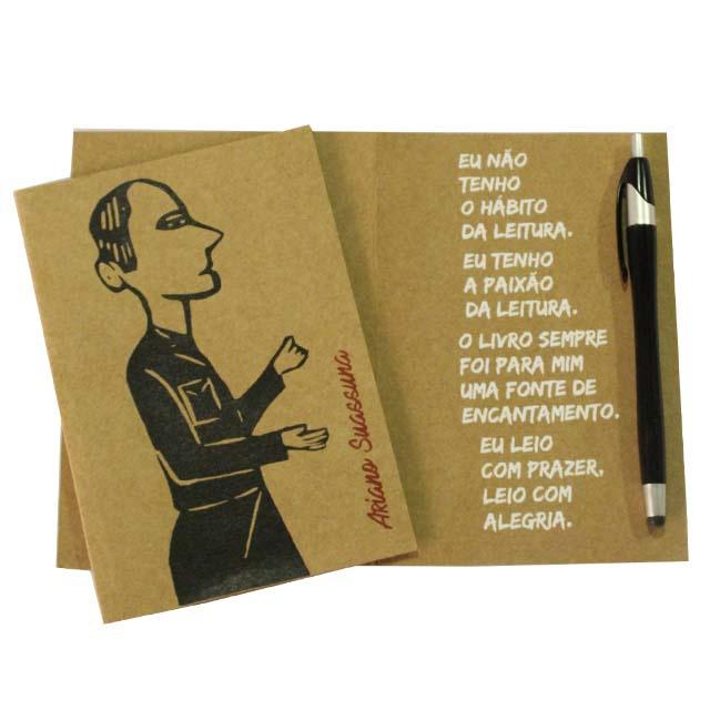 Cartão Ariano Suassuna