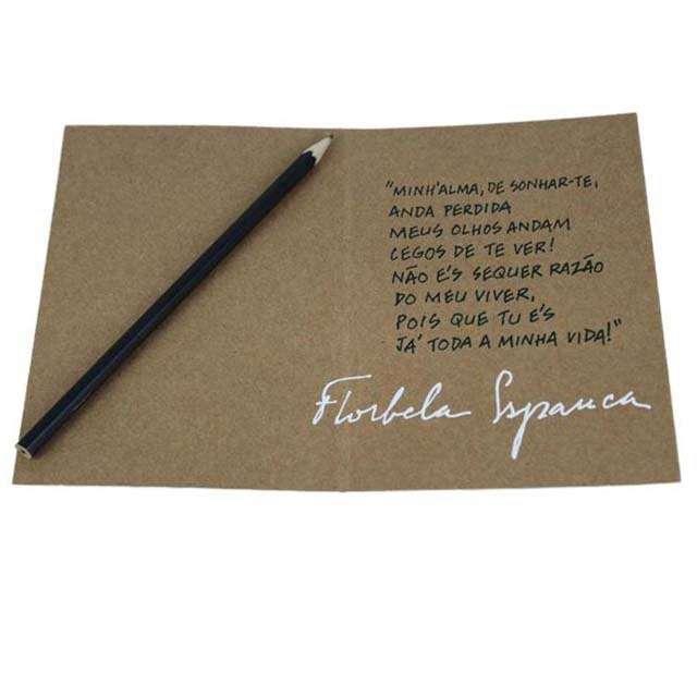 Cartão Florbela Espanca