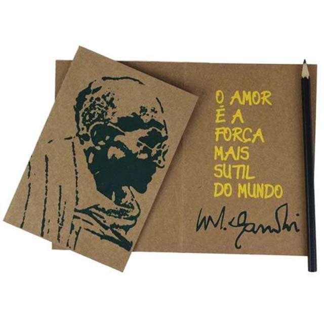 Cartão Gandhi