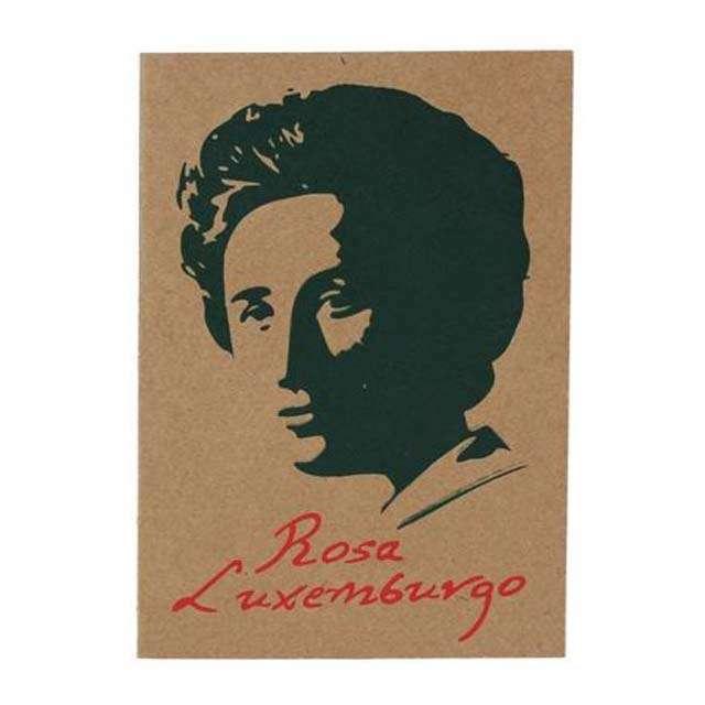 Cartão Rosa Luxemburgo