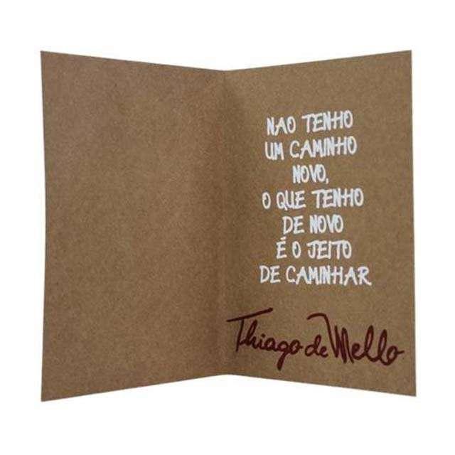 Cartão Thiago de Mello