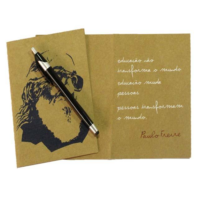 Cartão Paulo Freire Educação