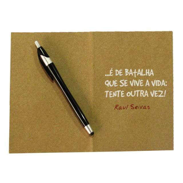 Cartão Raul Seixas