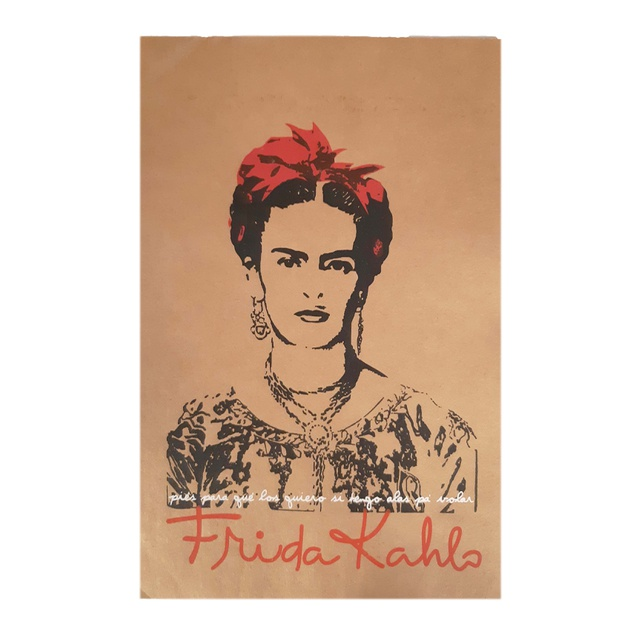 Cartaz Frida Kahlo